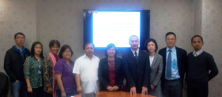On-Site Data Discussion on Oil Stockpiling with Oil Industry Management Bureau (OIMB) and Energy Policy and Planning Bureau (EPPB) of Philippine Department of Energy, on 22 August 2014, at Bonifacio Global City, Taguig City, Philippines.